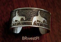 Western Pleasure Cuff bracelet by HorseLadyGifts on Etsy, $28.99