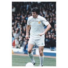 Eddie Gray Signed Leeds United Photo Leeds Autograph Memorabilia Jack Charlton, Eric Cantona, Leeds United, Liverpool, Manchester, The Unit, Gray, Trending Outfits, Mens Tops