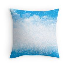 """Background ""Heavenly gloss"""" Throw Pillows by floraaplus 