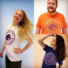 Its the day before the @boisestatebroncos first game - do you have your #BoiseState gear? Get the 2016 Boise State Football season limited edition season shirt 30-year spirit tee or game day t-shirt at the @boisestatebroncoshop! Happy #BroncoFanFriday!