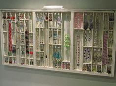 Printer's Drawer, jewelry case