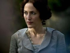 Bleak House, Gillian Anderson | BLEAK HOUSE (2006) Gillian Anderson, carrying herself like an ornate, decrepit angel, drops the temperature 20 degrees each time she appears on screen in this…