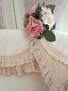 Sweet Old Rose baby bedding