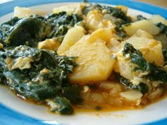 Culinary Couture: Spinach and Potatoes
