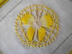 Tenerife lace | Lace - Teneriffe, Nanduti, Spider Web Lace, Sol, Cilaos