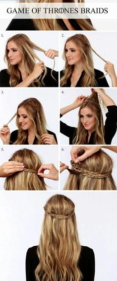Easy Yet Sassy GOT Braid Hairstyle #hair #hairstyle #halfupdo #womentriangle #christmas