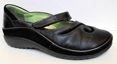 NAOT 'Matai' Black Leather Mary Jane Size 35/US 4-4.5 #Naot #MaryJanes