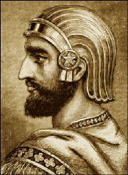 """Cyrus the Great (ca.600 - 529 BCE) was a towering figure in the history of mankind. As the """"father of the Iranian nation"""", he was the first world leader to be referred to as """"The Great"""". Cyrus founded the first world empire"""