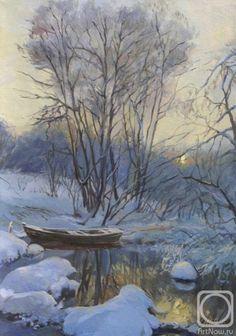 Панов Эдуард. Зимний пейзаж