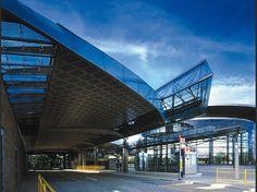 Eva Jiricna Architects - CANADA WATER BUS STATION - LONDON