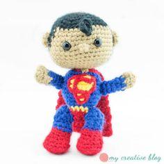 Superman - Crochet Pattern