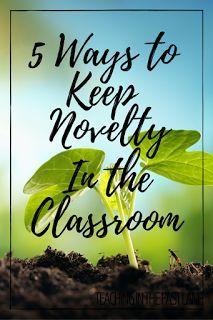 5 Ways to Keep Novel