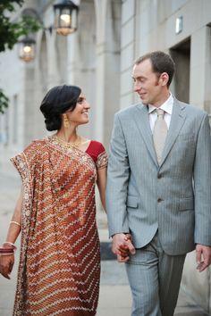 Indian-American Style wedding in DC - Meridian House - www.eleganceandsimplicity.com