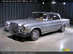 1971 Mercedes-Benz 280SE 3.5 Coupe in Silver. Click to see large photo.