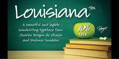 Louisiana font download