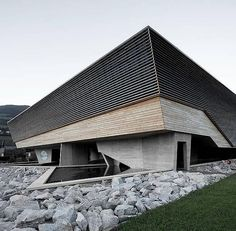 National Parc Hohe Tauern in Mittersill, Austria by Architects Forsthuber & Scheithauer