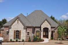 Stone And Brick Combinations Google Search Exteriors Exterior Houses Craftsman