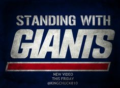 Win or Lose, I remain part of the Big Blue Faithful. Let's Go, Giants!!!!!