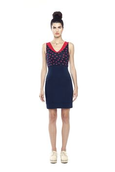 robe LAS PALMAS dress - PE/SS15 Annie 50 http://www.annie50.com/collections/las-palmas-2/