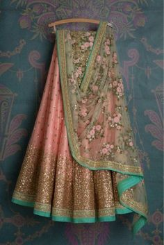 Peach Colour Net Fabric Party Wear Lehenga Choli Comes with matching blouse. This Lehenga Choli Is crafted with Embroidery This Lehenga Choli Comes with Unstitched Blouse Which Can Be Stitched Up to s. Net Lehenga, Indian Lehenga, Indian Gowns, Indian Attire, Cape Lehenga, Indian Wear, Lehenga Top, Party Wear Lehenga, Bridal Lehenga