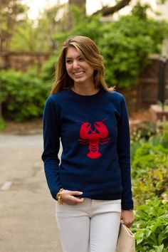 Cashmere Lobster Sweater