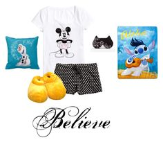 """""""A Very Disney Goodnight"""" by hanakdudley ❤ liked on Polyvore"""