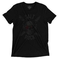 salt rock. Salt Rock, Bad To The Bone, Skull, Mens Tops, Fashion, Moda, Fashion Styles, Fashion Illustrations, Skulls