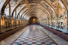 The Antiquarium Room at the Munich Residence
