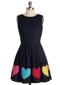 Can't Heartily Wait Dress | Mod Retro Vintage Dresses | ModCloth.com