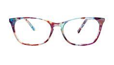 Affordable Fashion Glasses Cat Eye Rectangle Eyeglasses Women Grace Dazzling Front