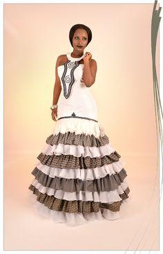 AfroRust - African Inspired Wedding Dress Design House | Blue