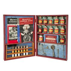 '47 Chemcraft Chemistry Set 5. When a kids chem set was a real chem set.My brother had one
