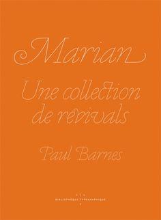 Design Envy · Marian, Une collection de revivals: Paul Barnes