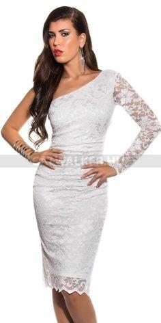 Alkalmi ruha, fehér - 18403