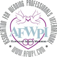 Wedding professionals in Hawaii that can assist you with your wedding plans You will find the members in their specific  categories at http://afwpi.com/directory/index.html