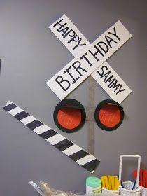 ID Mommy: DIY Train Themed Birthday Party!