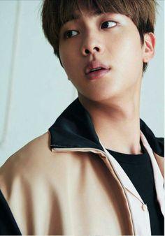Jin gloriously gorgeous....lipssssssssss