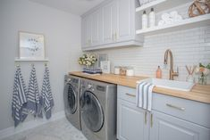 31 Stunning Farmhouse Laundry Room Decor Ideas, A bathroom is full of moisture, and you require excellent ventilation. Bathrooms may create a huge effect on your day-to-day life (obviously!) Just ad. Farmhouse Laundry Room, Laundry Rooms, Laundry Area, Laundry Closet, Small Laundry, French Country Dining, Country Living, Laundry Room Inspiration, Laundry Room Design