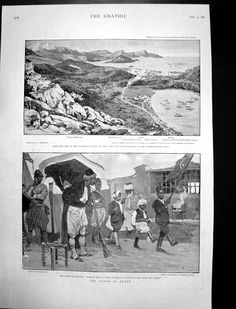 GİRİT-1897- Old Maps, Ottoman Empire, Crete, Vintage Photos, Artworks, The Past, Lost, Island, History