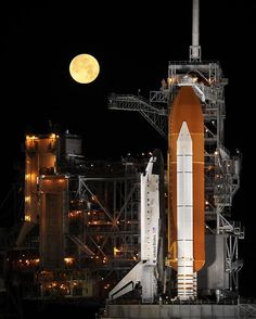 when I was a kid, we took a trip to watch the shuttle take off. It was one of the highlights of 8th grade!