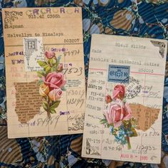 A Week's worth of projects - Margarete Miller Junk Journal, Journal Cards, Journal Ideas, Photo Humour, Glue Book, Journaling, Atc Cards, Artist Trading Cards, Textiles