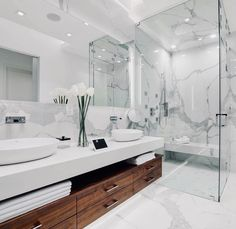 Dream Bathrooms, Beautiful Bathrooms, Master Bathrooms, Bathroom Modern, Bathroom Ideas, Bathroom Mirrors, Remodel Bathroom, Bathroom Cabinets, Bathroom Designs