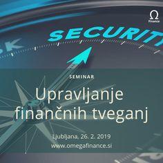 Želite izvedeti več o 𝙛𝙞𝙣𝙖𝙣č𝙣𝙞𝙝 𝙩𝙫𝙚𝙜𝙖𝙣𝙟𝙞𝙝? Pridružite se nam na seminarju, kjer bomo poleg predstavitve posameznih finančnih tveganj in njihovega merjenja predstavili tudi 𝙣𝙖č𝙞𝙣𝙚 𝙯𝙖𝙫𝙖𝙧𝙤𝙫𝙖𝙣𝙟𝙖 👍 Risk Management, Bond, Investing, Wellness