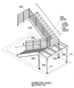 Best 11 Best Steel Welded Egress Stairs Images Stairs Steel Design 400 x 300
