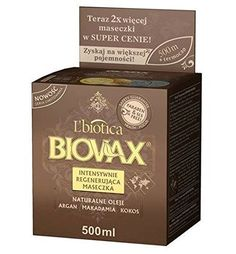 LBiotica Biovax Hair Mask 500Ml Argan Macadamia Coconut Oil * To view further for this item, visit the image link.