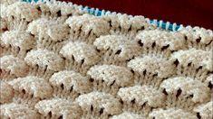 Knitting Videos, Knitting Stitches, Knitting Designs, Hand Knitting, Knitting Patterns, Crochet Flower Patterns, Crochet Flowers, Crochet Crafts, Knit Crochet