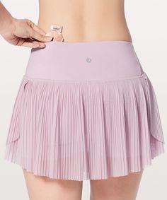 Lululemon Just Pleat It Skirt - Porcelain Pink - lulu fanatics Womens Tennis Skirts, Tennis Outfits, Tennis Dress, Tennis Clothes, Golf Outfit, Tennis Fashion, Sport Fashion, Fashion Outfits, 3d Fashion