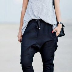 Baggy sweatpants or low-slung jeans, perhaps? Men's all the way. | Things Every Woman Should Buy In The Men's Department