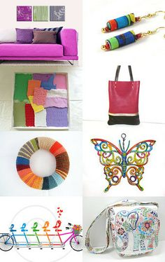 colorful world  by mira (pinki) krispil on Etsy--Pinned with TreasuryPin.com