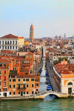 Stay in Venice -Venice and its Leaning Tower - Italy.